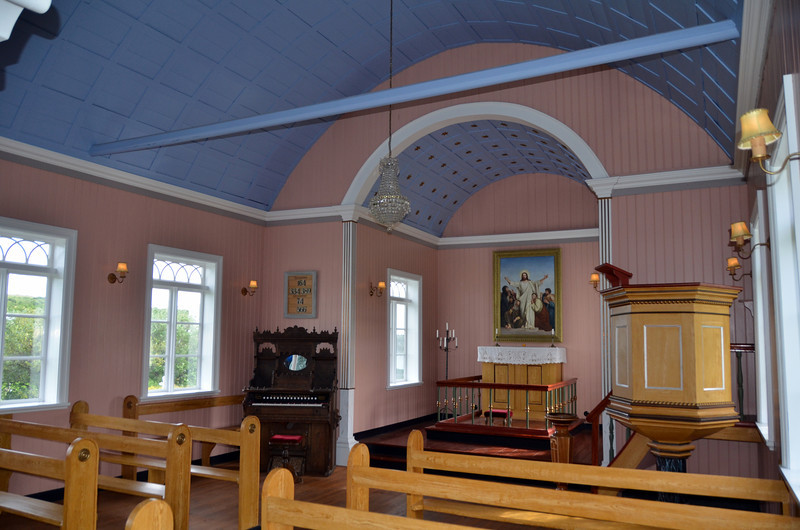 INTERIOR CHURCH ICELAND 2011