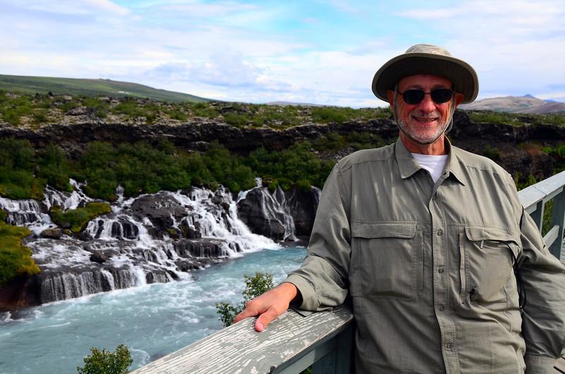 Hraunfassar, Barnafoss, rapids, 2011