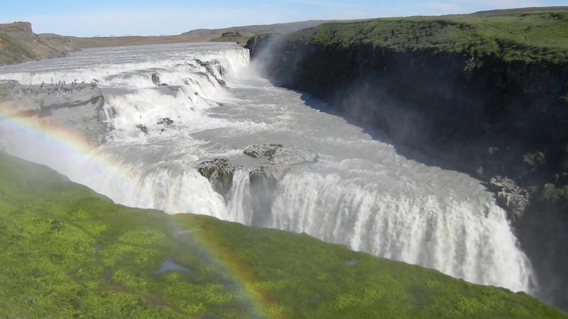 ICLELAND VIDEO RAINBOW, VIEO WITH WATERFALL