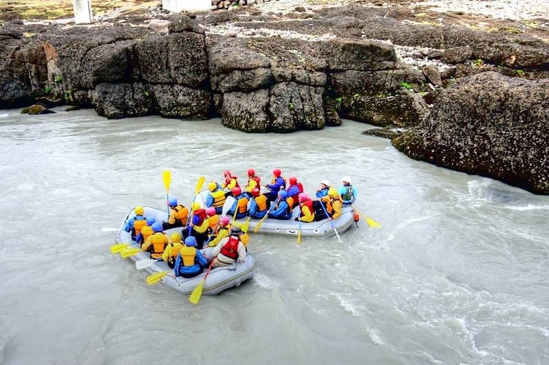 White Water Rafting, Iceland