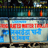 Qutb Comblex New Delhi water trolly - it is licenced (sic) so it must be good......