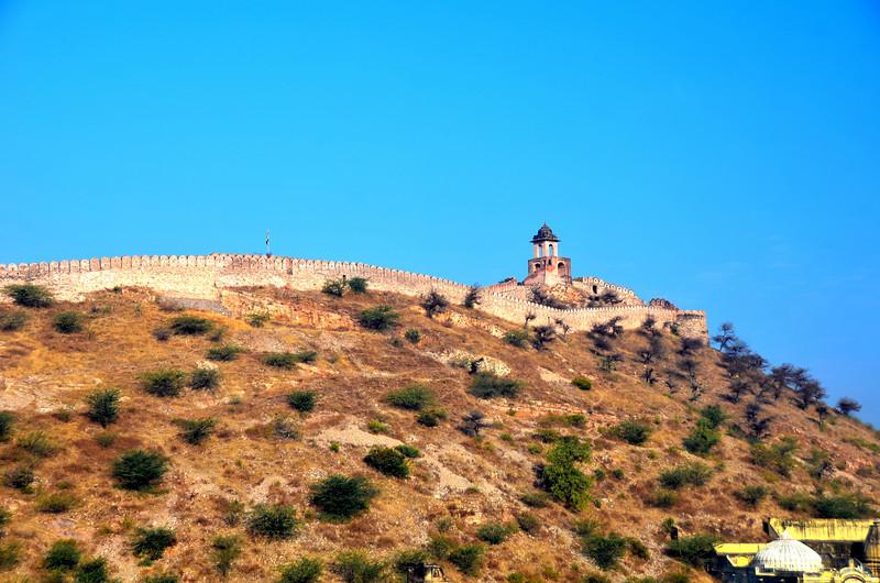 JAIPUR, INDIA Amber Palace and Fort, built in 1592 by Maharajah Man Singh, Jaipur, Rajasthan state, India, Asia