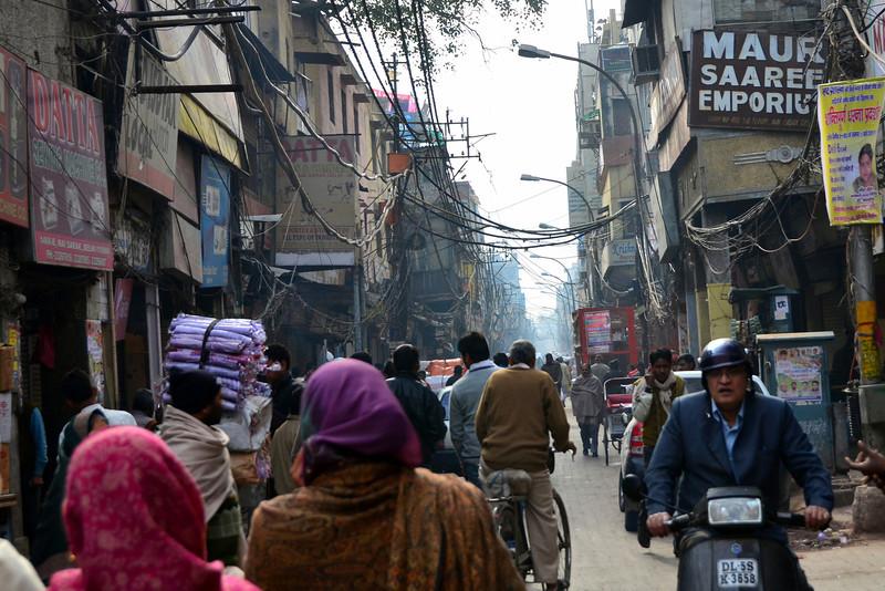 New Delhi city street