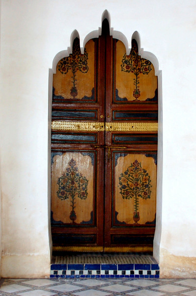 one of many doors berber