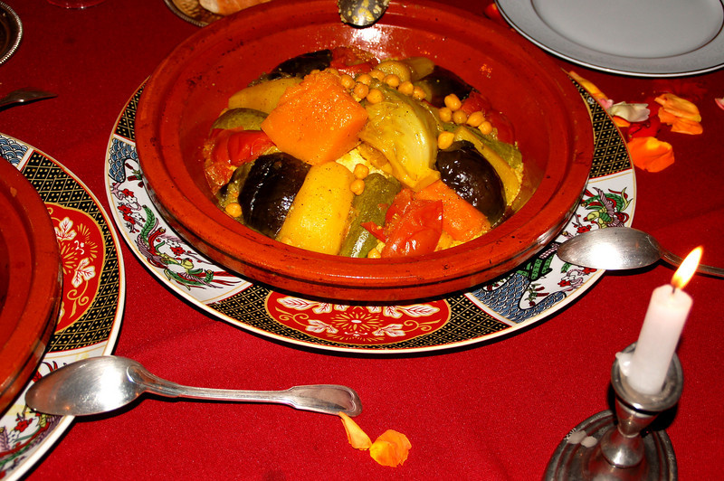 farwell dinner in Marrakesh berber