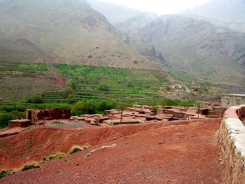 on way to Marrakesh berber