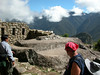 Machu Piccu top of mountain Sun Gate view UNESCO WORLD HERITAGE SITE