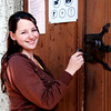 Si matins church, slovakia open the door with the old key