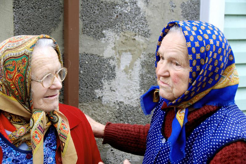 two ladies in Milos