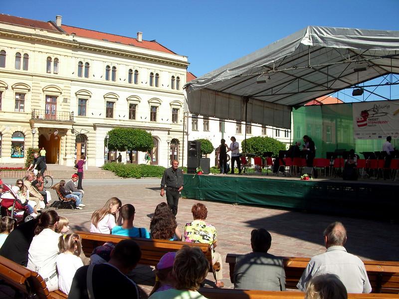 Presov down town pictures, slovakia