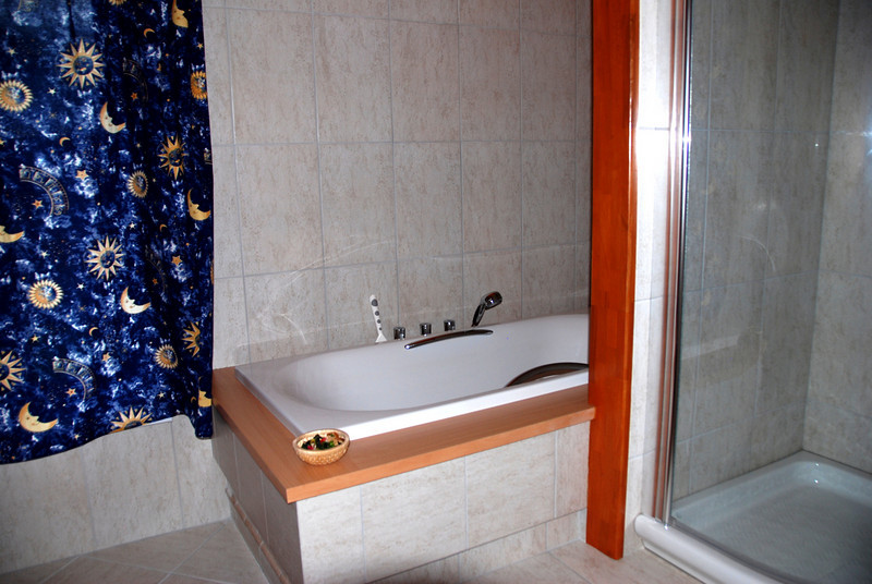 bath  in Uzovske Peklany guest house
