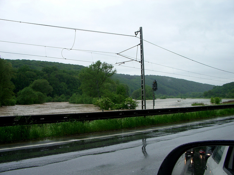 flood waters slovakia near Bardjov