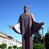 Christ statue presov,Sovakia