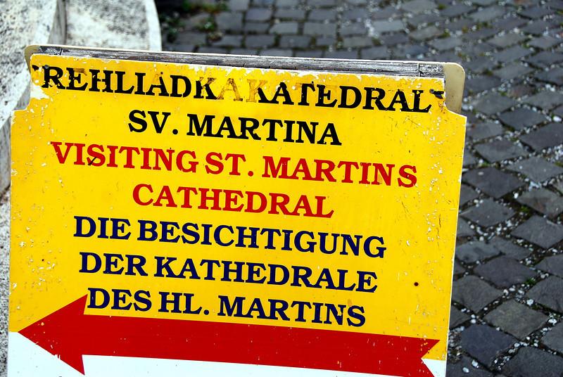 St matins sign