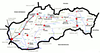 SLOVAKIA GENEALOGY PICTURES - Slovakia map