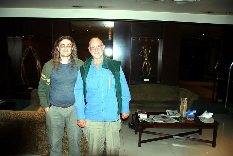Bariloche, Argentina, Sergio Rabatin and me