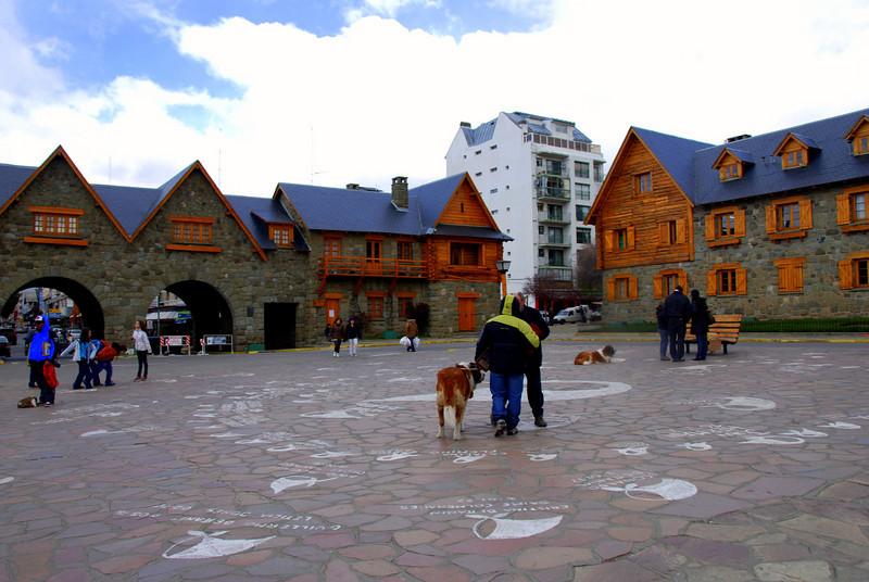 Bariloche, Argentina main square
