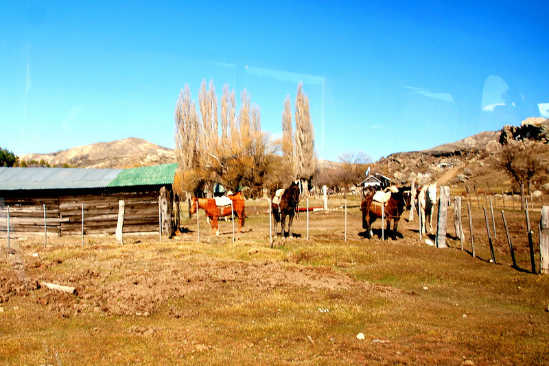 Bariloche, Argentina ranch Patagonian steppe