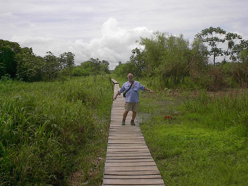 amazon river town