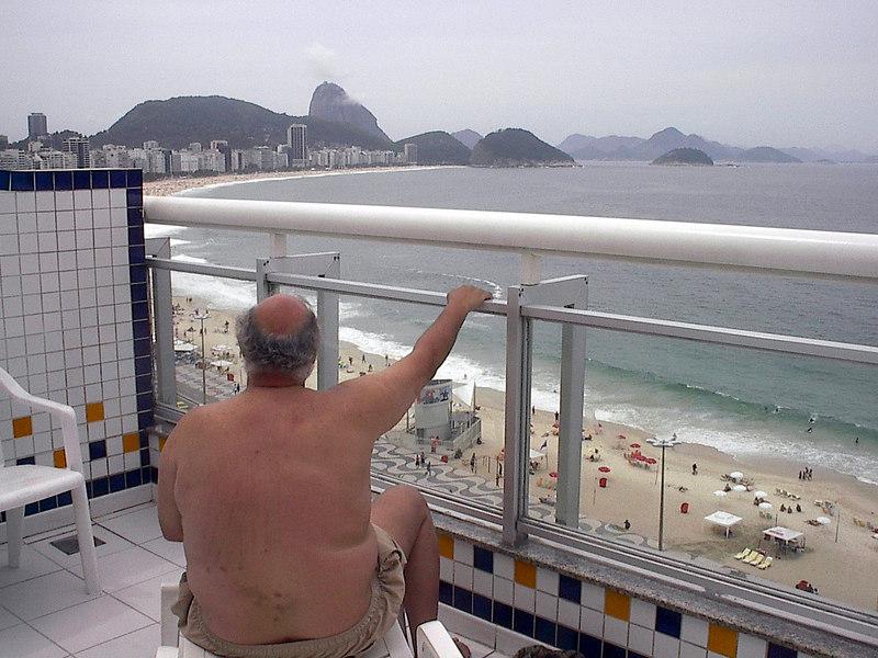 hotel Copacabana beach