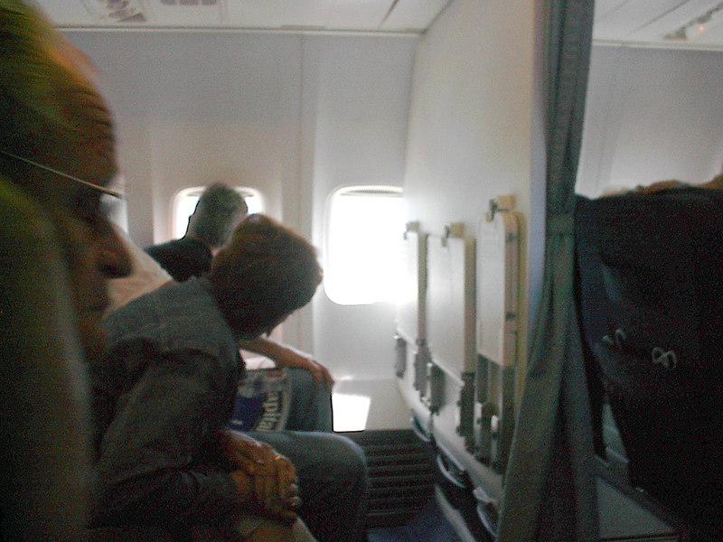 leaving brazil betty on the flight home