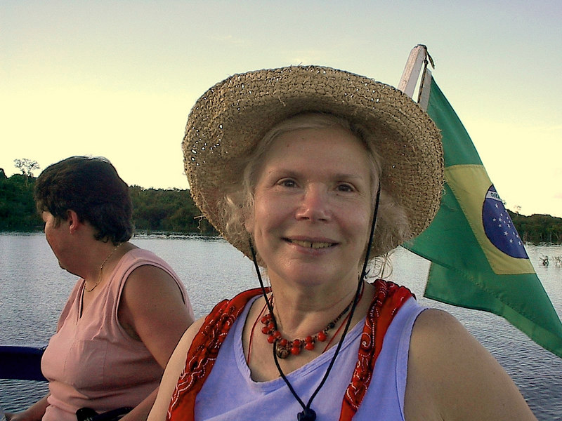 boat ride in the amazon