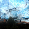 Parque Nation Los Glaicares, Park one of the large glaciers.