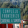 boarder sign - Cardinal Samore fronter complex