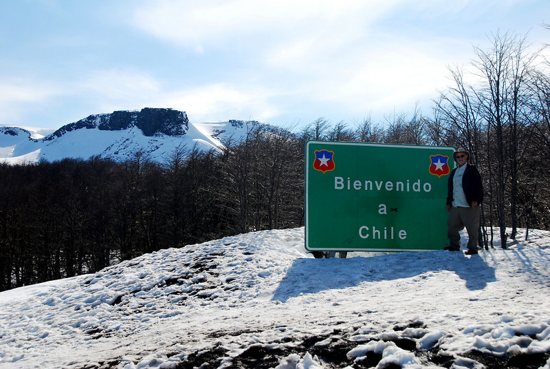 Welcome to Chile, snow free.