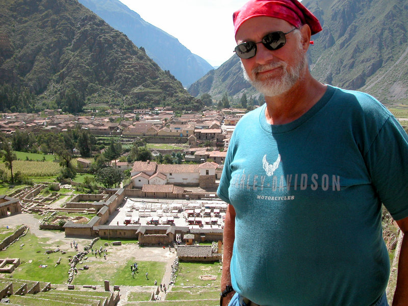 incan ruins ouside cusco