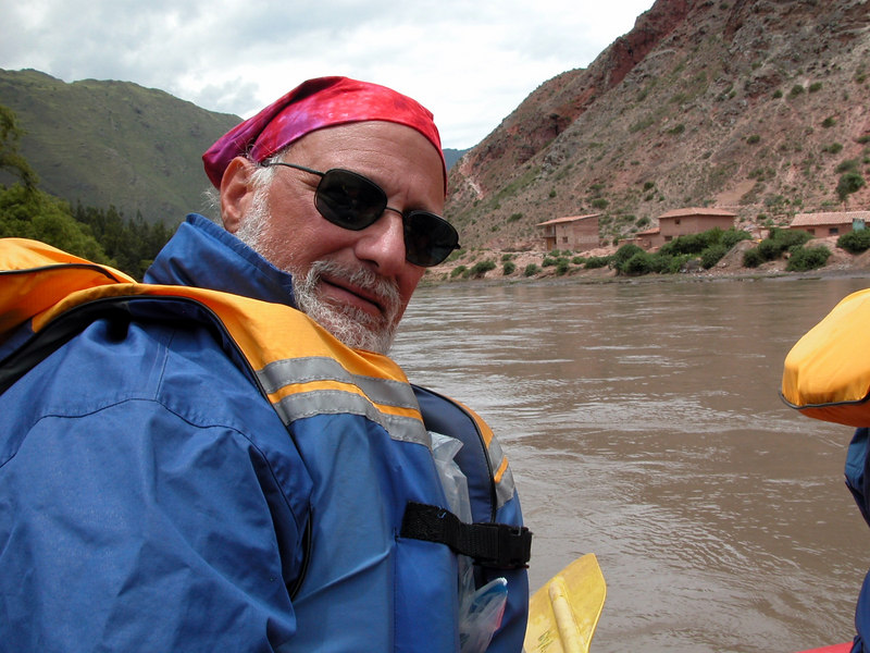 rafting in the peruvian moutains