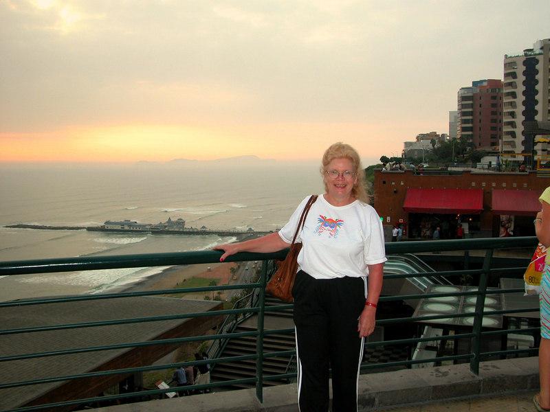 sunset Lima
