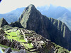 Peru, machu pichu from sun gate hiking trail UNESCO WORLD HERITAGE SITE