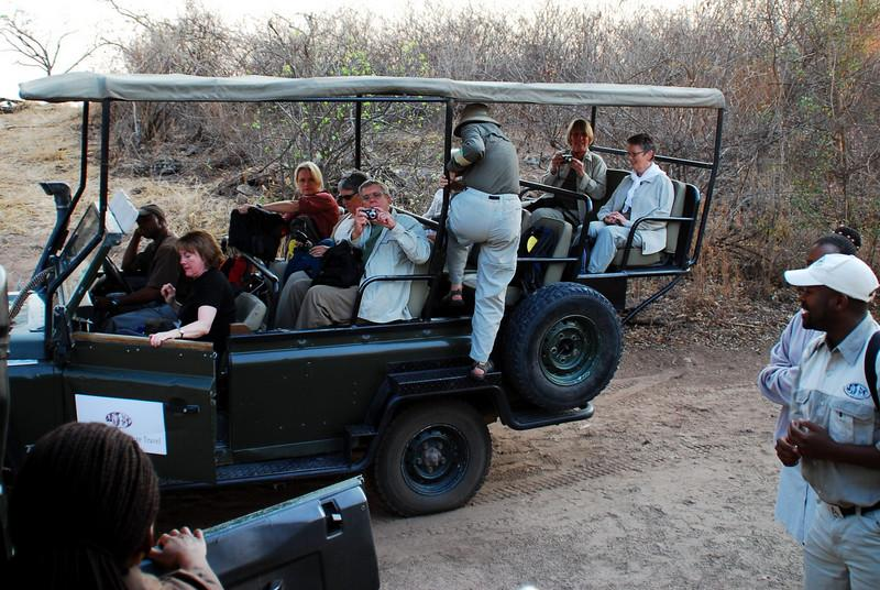 game drive start of the day
