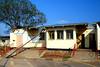 Botswana international boarder with Zimbabwe.  Boarder office needs a little work.