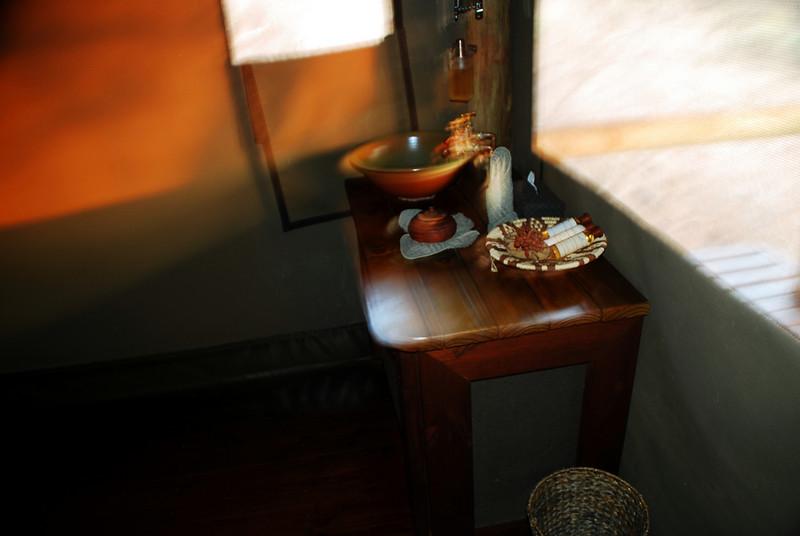 boabab lodge bathroom sink very nice