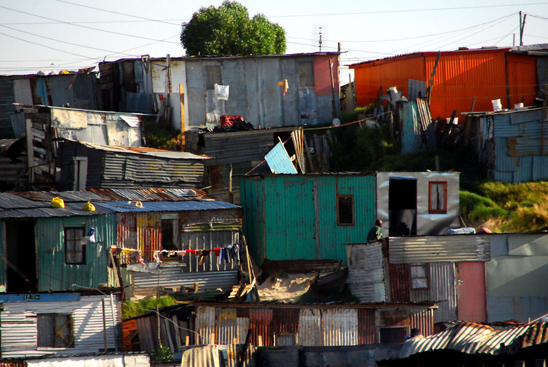 Cape Town, South Africa, Slums