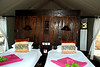 our room in the tented camp in Africa from the OAT Ultimate Africa trip. <br /> Tented camp room OAT Ultimate Africa/
