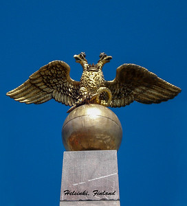 The two-headed eagle had it's beginnings in earliest times.  Since the middle ages it has been used as a symbol by many governments.