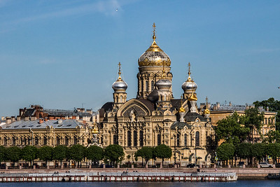 The Church of the Assumption of the Blessed Virgin Mary was rebuilt from 1895 and was the first church with aluminium covered domes.  Closed by the Soviets in 1935, it was used as a warehouse and then in 1956 converted to an artificial ice rink. Restoration began in 1991 and continues to the present time.