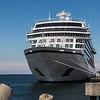 The Viking Star docked at the Tallinn, Estonia port.
