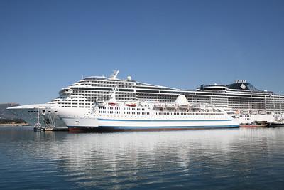 2009 - F/B SCOTIA PRINCE laid up in Toulon, next to MSC FANTASIA.