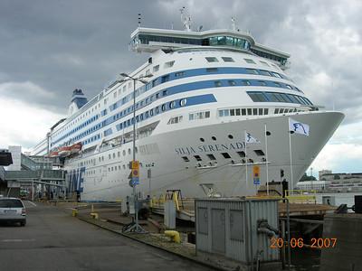 2007 - SILJA SERENADE in Helsinki.