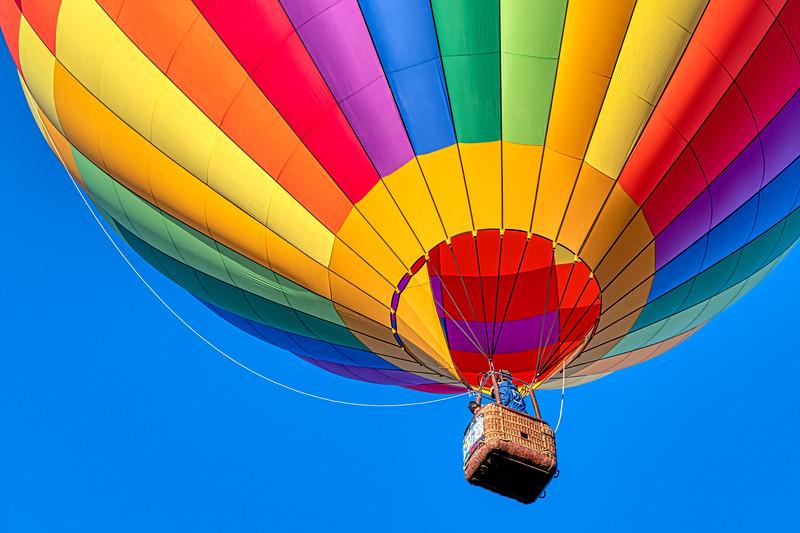 Rainbow Balloon Partial - John O'Neill Photography