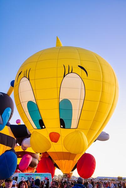 Tweety Balloon - John O'Neill Photography