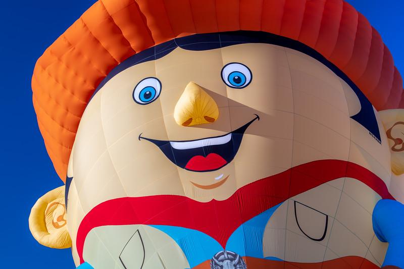 Cowboy Balloon Close-Up - John O'Neill Photography
