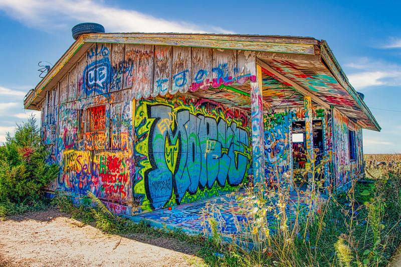 Graffiti House - John O'Neill Photography