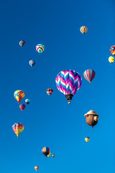 Many Balloons Vertical - John O'Neill Photography