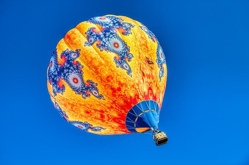 Orange & Blue Sophisticated Print - John O'Neill Photography