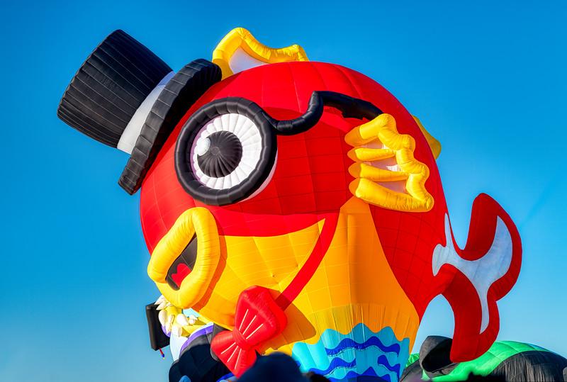 Wacky Fish Balloon - John O'Neill Photography
